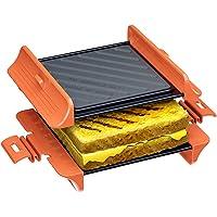 MACONEE Microwave Sandwich Maker | Panini Press Sandwich Maker | Microwave Grill Tray Crisper | Grill Fast and Dishwasher Safe
