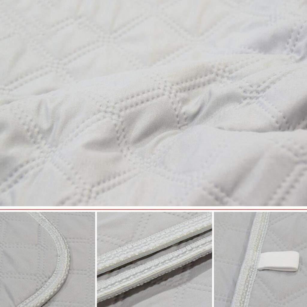 ZXY Calienta camas eléctrico Manta eléctrica, manta de agua caliente eléctrica, colchón eléctrico tamaño king con control individual, construido en manta de ...