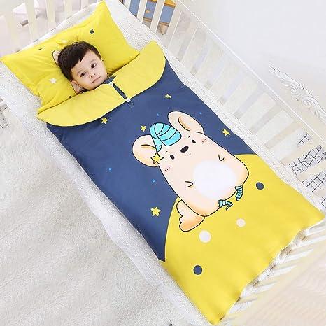 Saco de Dormir para bebés, Primavera de los niños y otoño e Invierno Engrosamiento, bebé en la Gran Patada de Invierno para niños Mayores de 0-12 años: ...