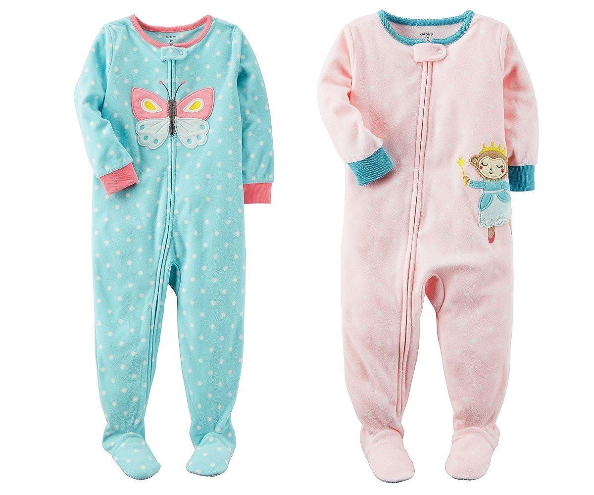 人気商品 Carter's Baby B07BVJ7RHC Clothing SLEEPWEAR and ベビーガールズ 18 Months 18 Zipper Closure - Blue Butterfly and Pink Monkey B07BVJ7RHC, 【返品送料無料】:6e94f349 --- a0267596.xsph.ru