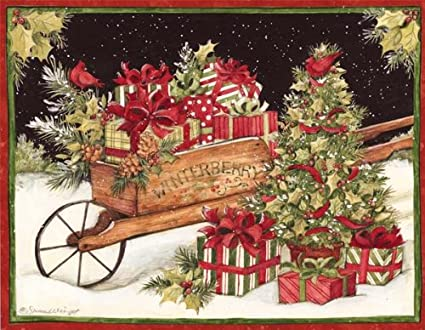 lang christmas delivery boxed christmas cards artwork by susan winget - Amazon Christmas Delivery