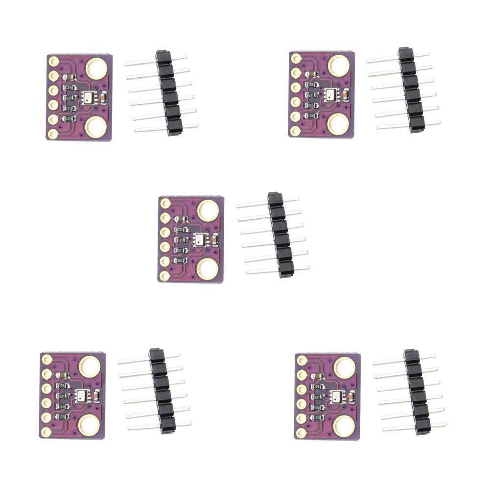 CHENBO 5 PCS BMP280 3.3 Digital Barometric Pressure Altitude Sensor High Precision Atmospheric Module