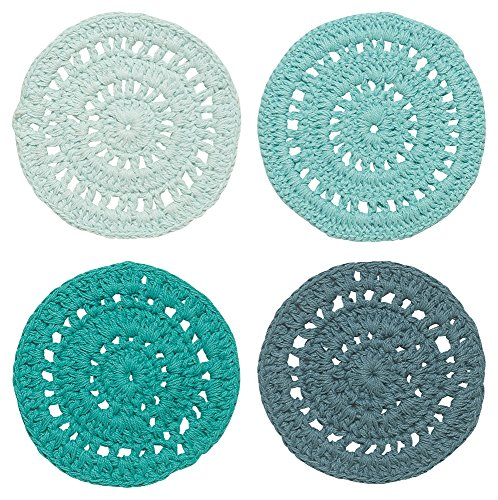 Danica Studio Crocheted Coasters, Set of Four, Cascade ()