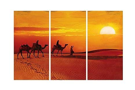 SAF Camel Desert 8MM MDF Panel Digital Reprint Painting (18 ...