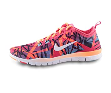 feb0c06cd6d67 Nike Free 5.0 TR Fit 4 Print Women Running Trainers Shoes Size UK 4 ...