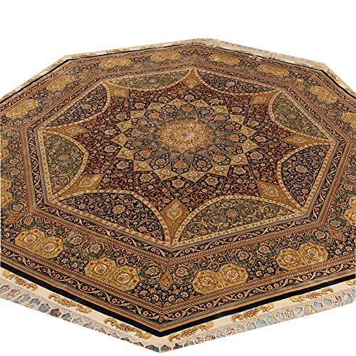 Camel Carpet Hand Knotted Persian Tabriz Carpet Living Room Rug ()