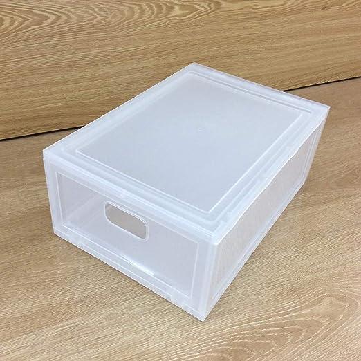 Caja De Plástico para Guardar Zapatos, 10PCS Plástico Helado Caja ...