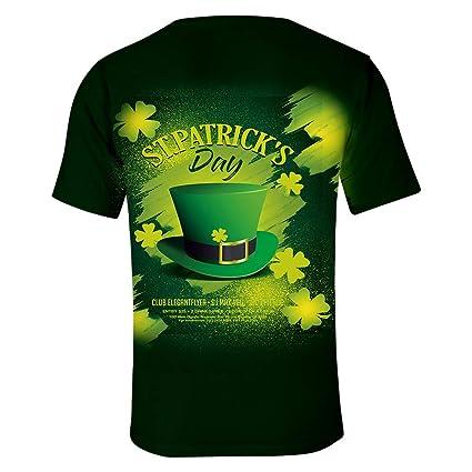 Camisetas Hombre Originales YiYLunneo DíA De San Patricio Unisexo ...