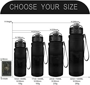 Highlander Hydrator Water Bottle Sports Camping Travel Running Canteen Flask