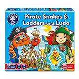 Orchard Toys Pirate Snakes Ladders & Ludo Game