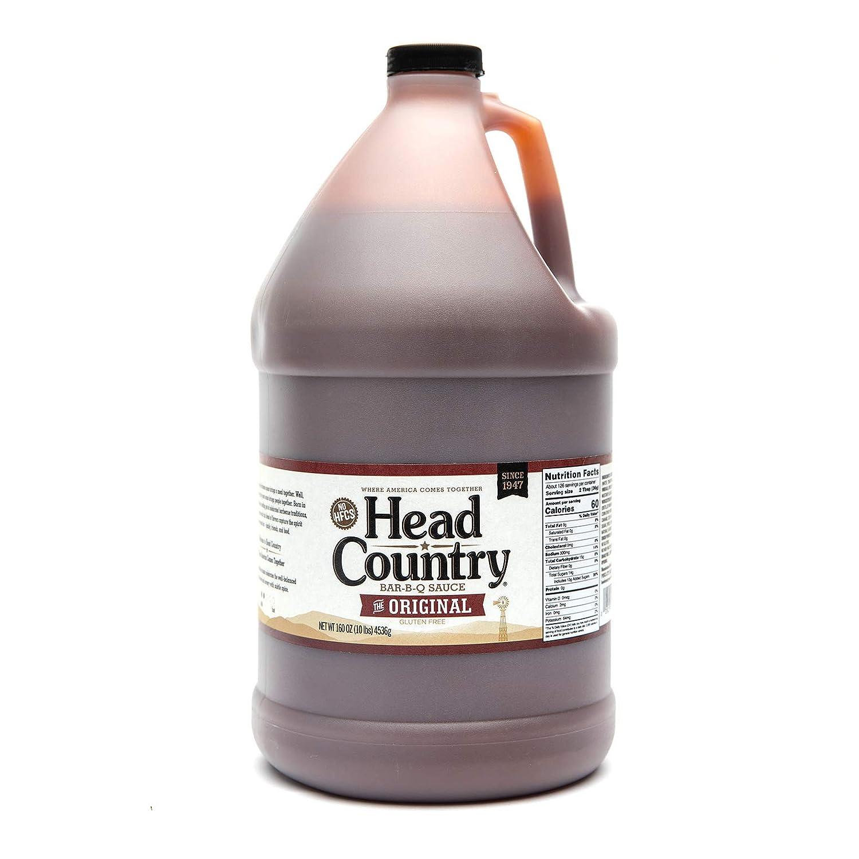 Head Country Bar-B-Q Sauce, Original, 160 Ounce (Pack of 4)