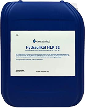 Hydraulic Oil Hlp 32 Iso Vg 32 According To Din 51524 Part 2 20 Litres Auto