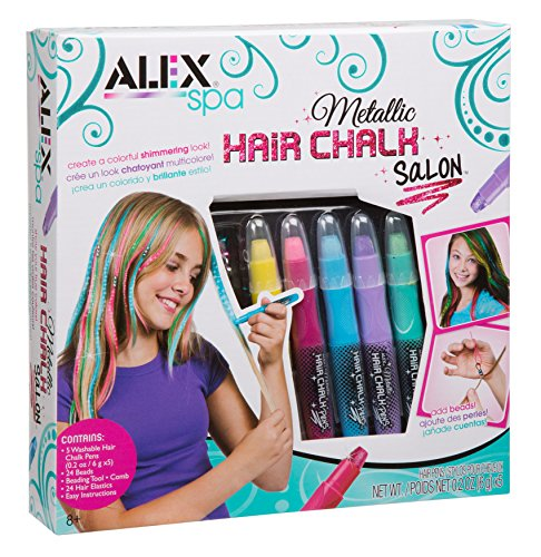ALEX Spa Metallic Hair Chalk Salon