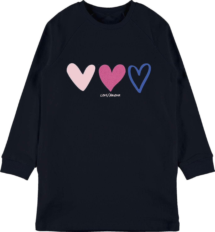 NAME IT M/ädchen Nkfvilna Ls SWE Tunic Bru O Sweatshirt