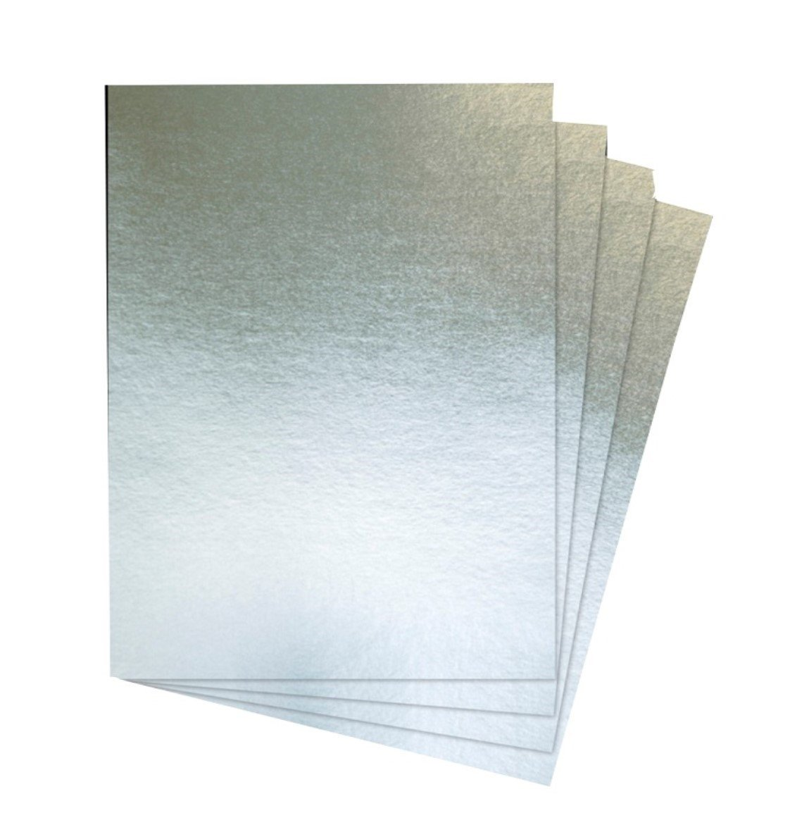 House of Card & Paper A2 240 GSM Foil Card - Silver (Pack of 25 Sheets) HCP267