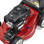 Jonsered L2821, 21 in. 160cc GCV160 Honda 3-in-1 Walk Behind Front-Wheel-Drive Mower 18 Powered by 160cc Honda GCV160 engine with 6.9 ft-lbs Gross torque Dual trigger control system allows you to operate with either hand, or split the effort between both. High-tunnel cutting deck design delivers premium cut quality and bagging performance while providing a close trim, every time.