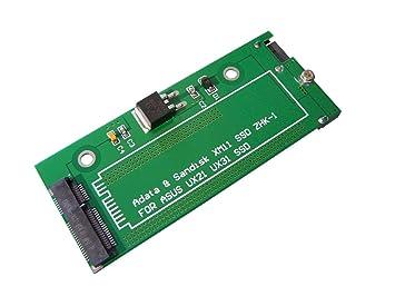 Kalea-Informatique – Adaptador para SSD de ASUS Zenbook UX21 y UX31, de 6 y 12 Pines a SATA III, para SanDisk, ADATA
