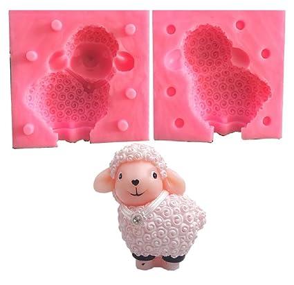 Inception Pro Infinite Molde de Silicona - para Uso Artesanal - ovejas - Velas jabones