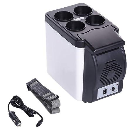 DXDCV Refrigerador del coche Refrigerador eléctrico de la caja del ...