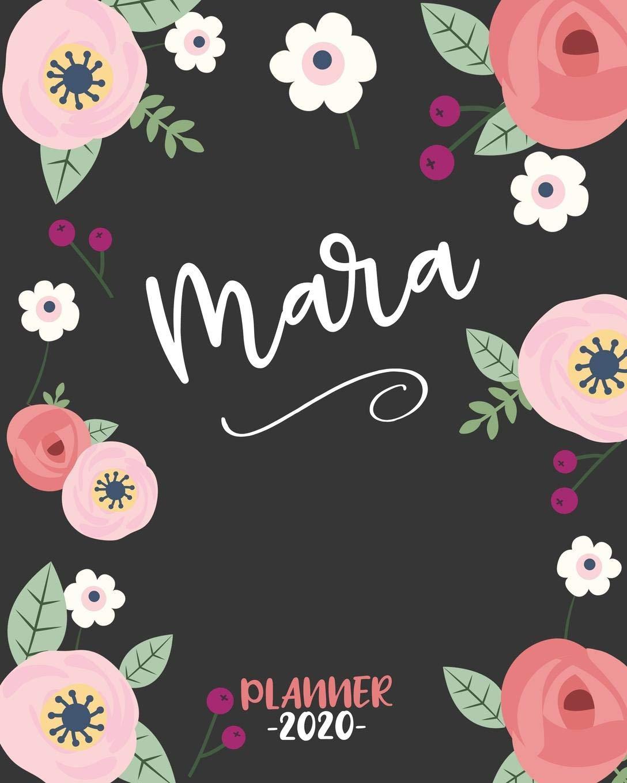 Amazon.com: Mara: Diario Agenda Settimanale Datato con ...