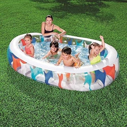 QFL Piscina Inflable, Piscina Infantil for niños, Piscina hinchables for niños, para: Uso Interior o Exterior Piscinas para niños (Color : Blue): Amazon.es: Hogar