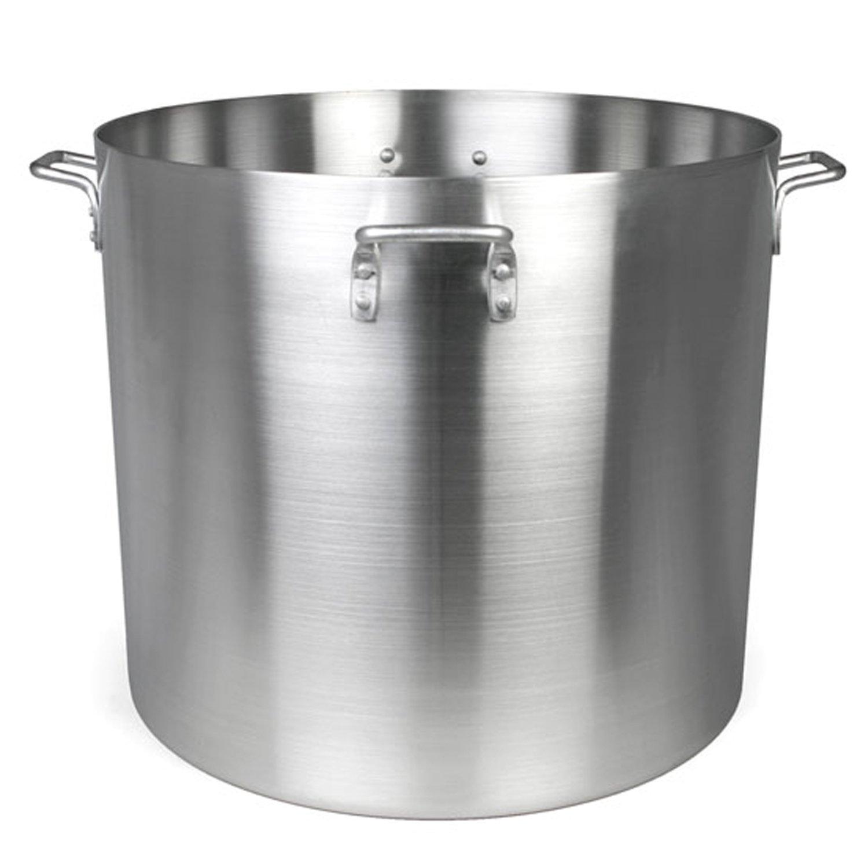 Thunder Group 140 Quart Aluminum Stock Pot