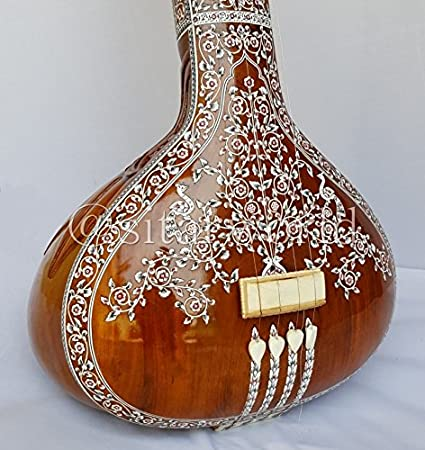 Amazon com: TANPURA FEMALE HEMRAJ DECORATED MIRAJ MADE WITH