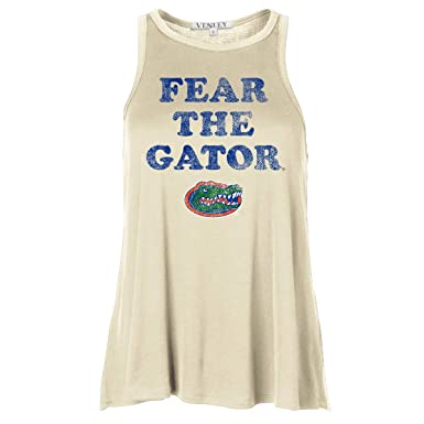 daf00ccc959972 Official NCAA Florida Gators Women s Baby Rib Loose Super Soft Tank ...