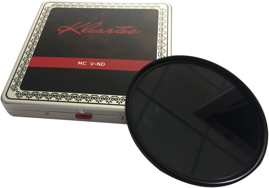 Kleartec V-ND Variable Neutral Density Digital Filter 82mm