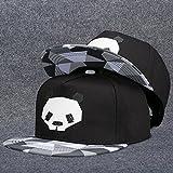 unique fashion tide hat cap men man base women girls summer sun sun leisure cap flat-brimmed hats youth (panda