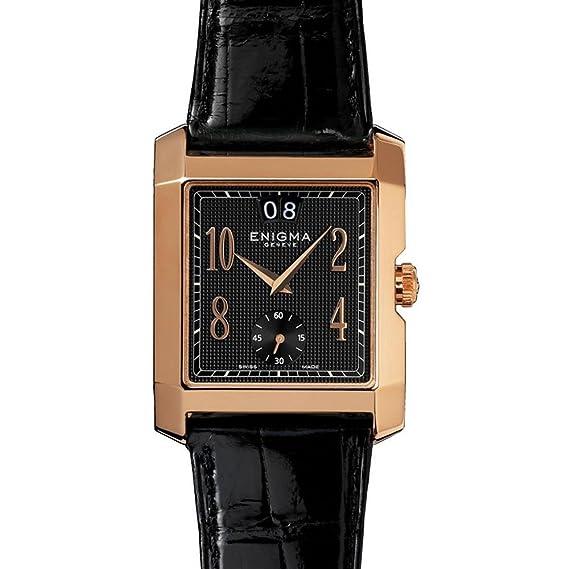 ENIGMA BY GIANNI BULGARI BIG DATE RELOJ DE HOMBRE AUTOMÁTICO GBD.AS.R.11.00.AL: Amazon.es: Relojes