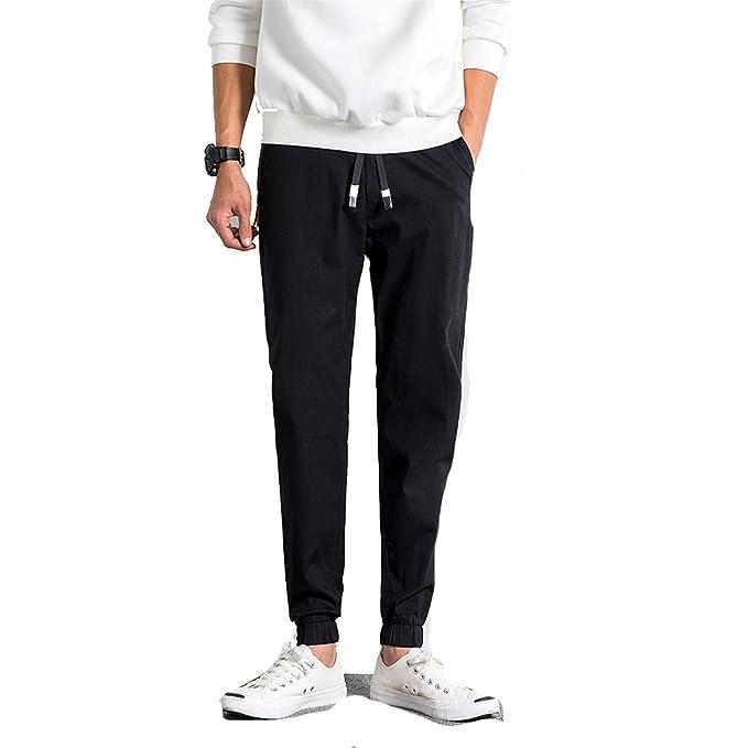 en présentant Style magnifique Excellente qualité Cyose Fashion Men Elastic Waist Joggers Pantalon Homme ...