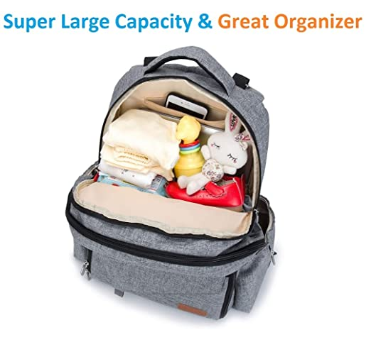 329f605b00dd Amazon.com   Ankommling Diaper Bags Backpack Multi-Function Waterproof  Travel Backpack