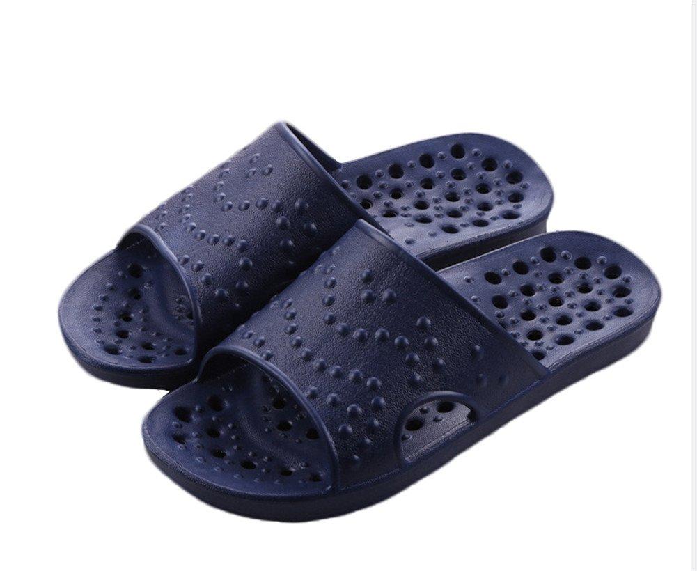 Auspicious beginning Frauen und Männer Art und Weise höhlt heraus Sandale Badeschuhe D-Blau