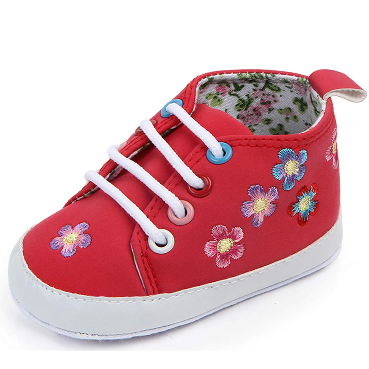 anbiwangluo Unisex Baby Sneakers Infant Canvas Shoes Girls /& Boys First Walkers