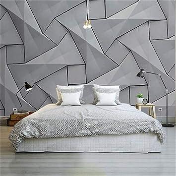 Moderne 4D Tapete Wand Zement Seidentuch Tapete, dreidimensionale ...