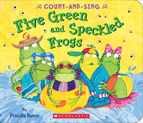 Five Green and Speckled Frogs: A Count-and-Sing Book ()