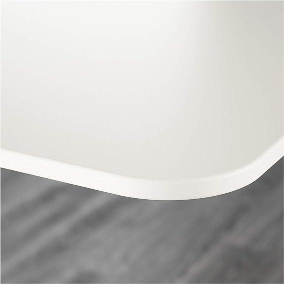 Ikea Bekant - Mesa de Escritorio, Color Blanco: Amazon.es ...