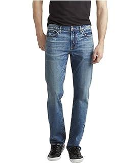 b0d3f336 Aeropostale Mens Essex Straight Leg Jeans Blue 27x28 at Amazon Men's ...