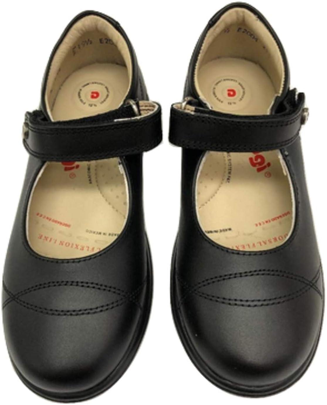 DOGI Girls Black Mary Jane Shoes Size