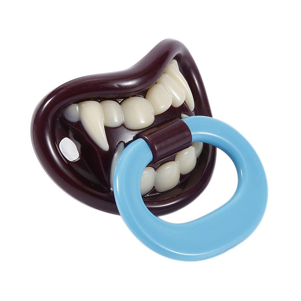 chupete de Halloween Chupete divertido para beb/é de silicona creativo chupete ideal como regalo para beb/és vampiro
