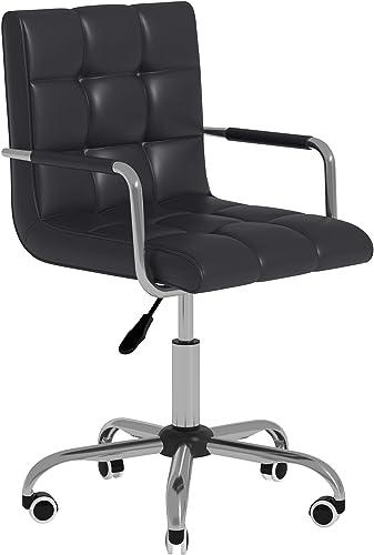 HOMCOM Modern Computer Desk Office Chair