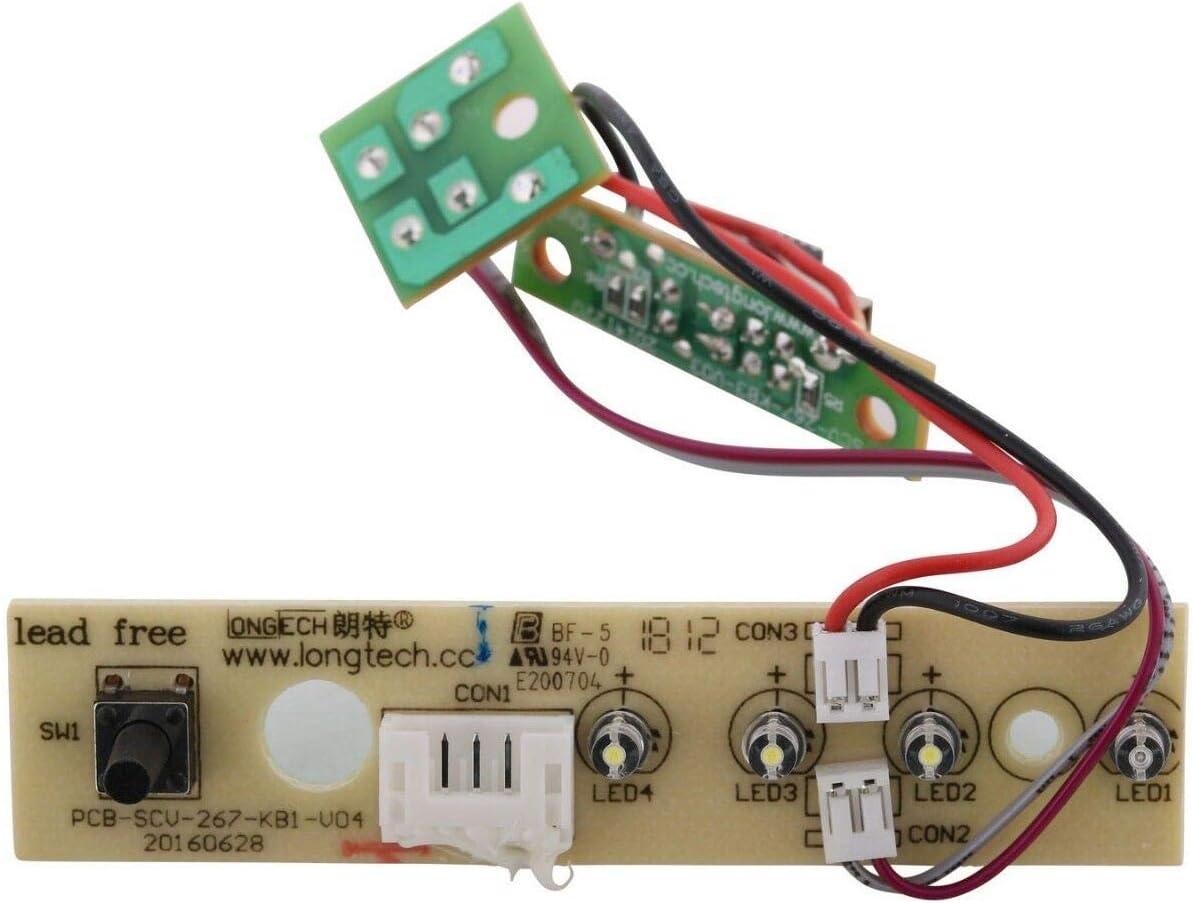 Rowenta tarjeta PCB controles escoba Vapor Clean Steam ry75 ry7555 ...