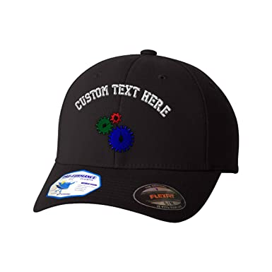 f5a5850e9e61c Custom Text Embroidered Manufacturing Unisex Adult Elastic  Polyester Spandex Flexfit Pro-Formance Hat Baseball