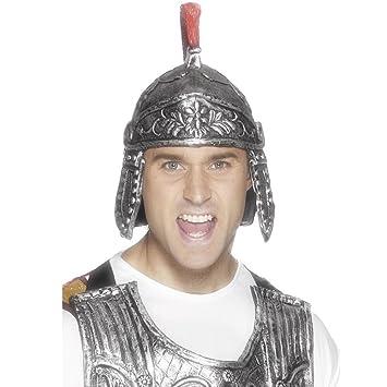 Smiffys Casco romano, casco de caballero, Roma, traje, carnaval