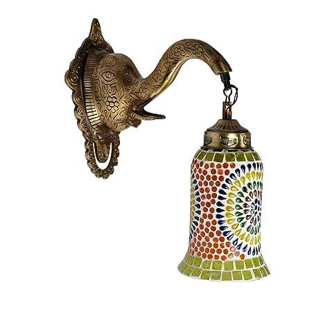Amazon.com: Lalhaveli - Lámpara de pared decorativa, diseño ...