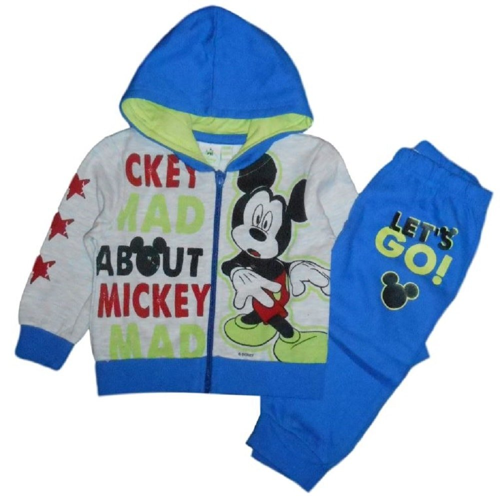Disney Mickey Mouse - Chándal con Capucha y pantalón para bebé ...
