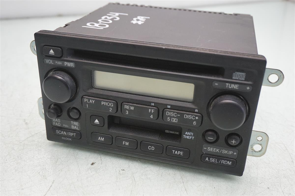 2005 2006 Honda CR-V Radio AM FM CD player 39100-S9A-A51