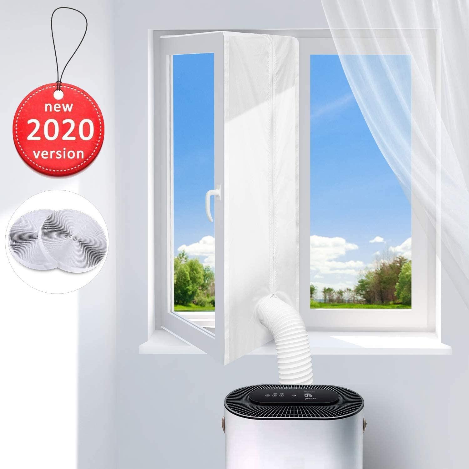 400CM Universal Window Seal for Portable Air Conditioner And Tumble Dryer