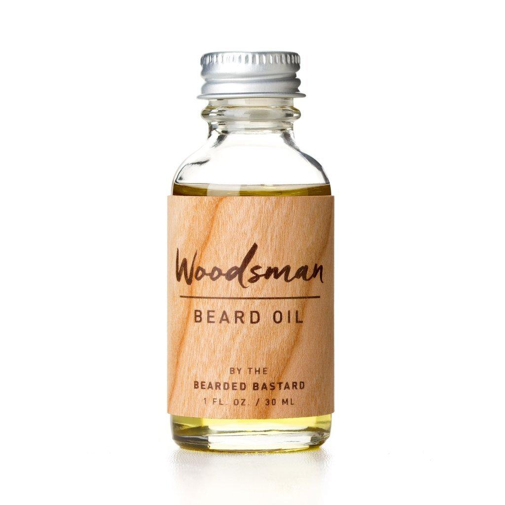 Woodsman Beard Oil by The Bearded Bastard —Natural Beard Oil (1 oz)